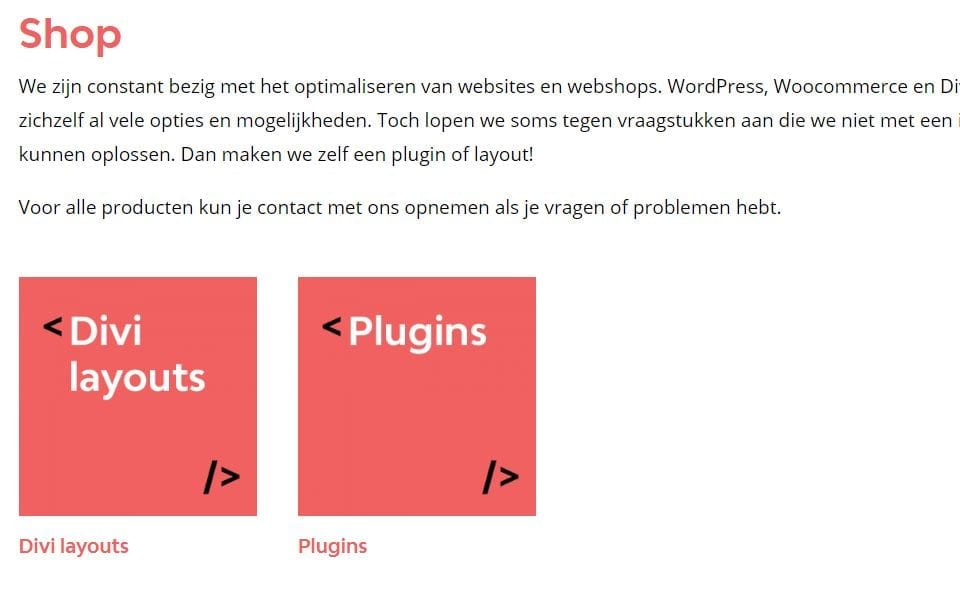 WooCommerce zonder categorie aantallen