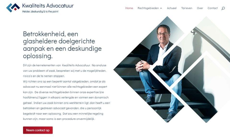Brand Identity & Website voor Kwaliteits Advocatuur
